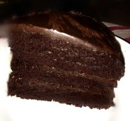 Sinfully Double Chocolate Cake