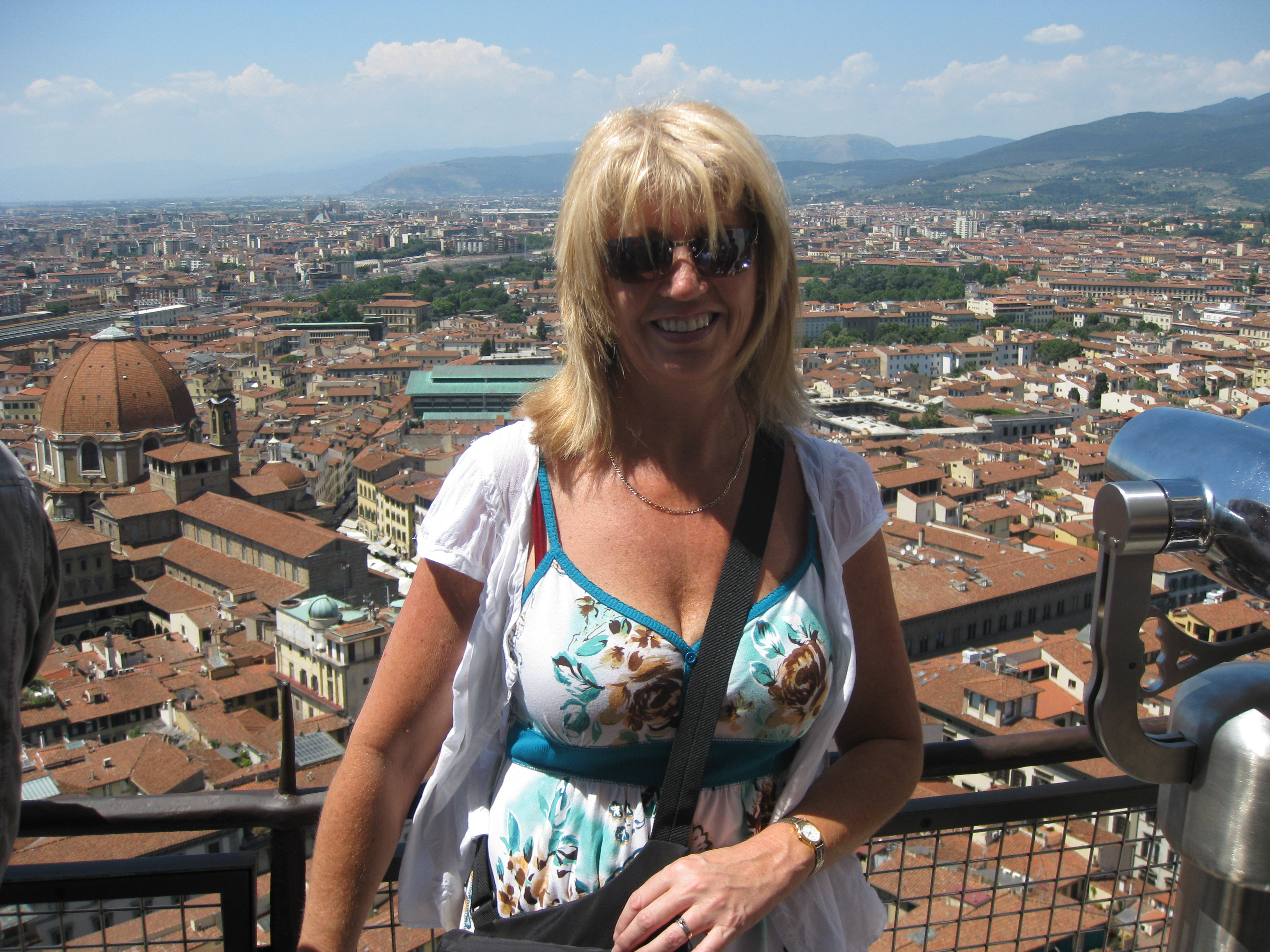 Florence from the top of the cupola