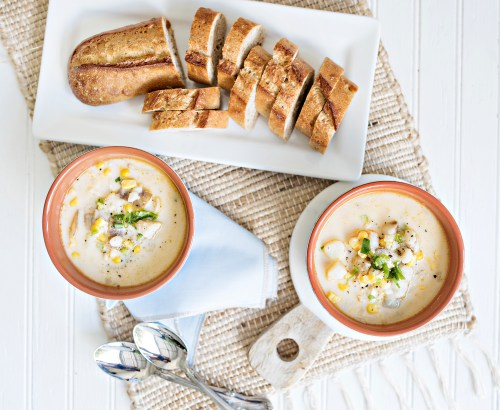Cod and Corn Chowder