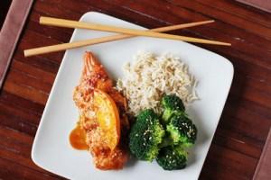 Asian-Style Salmon with Sesame Broccoli