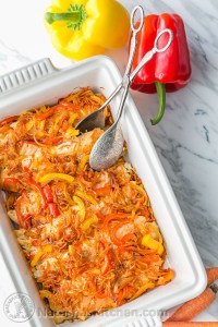 Tilapia and Vegetable Casserole