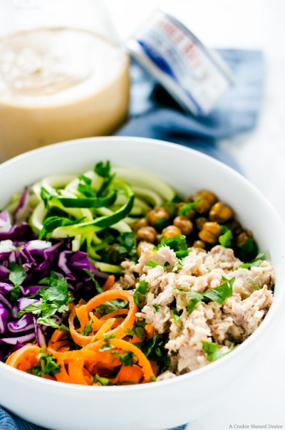 Thai Tuna Bowl Recipe