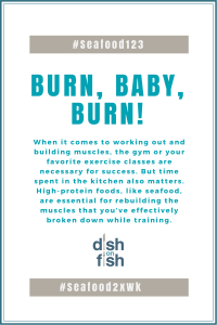 #Seafood123 Burn Baby Burn