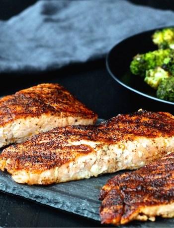 Spice Rubbed Salmon