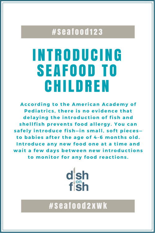 Introducing Seafood to Children