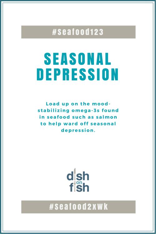 seafood for seasonal depression