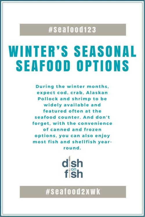 Winter Seasonal Seafood