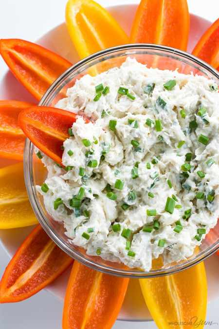 seafood meal plan - Cream Cheese Crab Dip