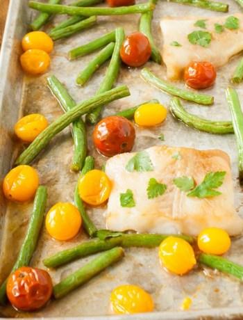 Sheet Pan Fish Dinner