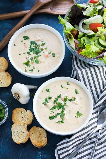 Seafood Restaurant Dishes - Seafood bisque