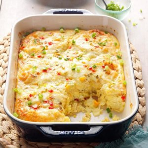 Cheese and crab baked dish