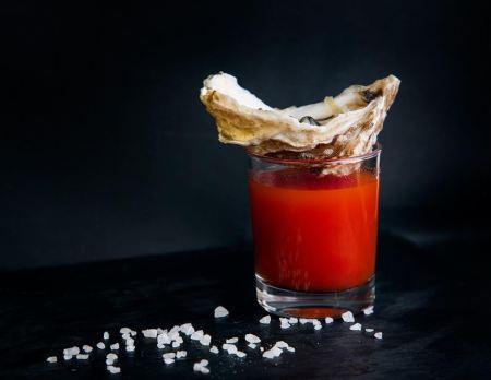 Mediterranean Diet - Oyster shooter