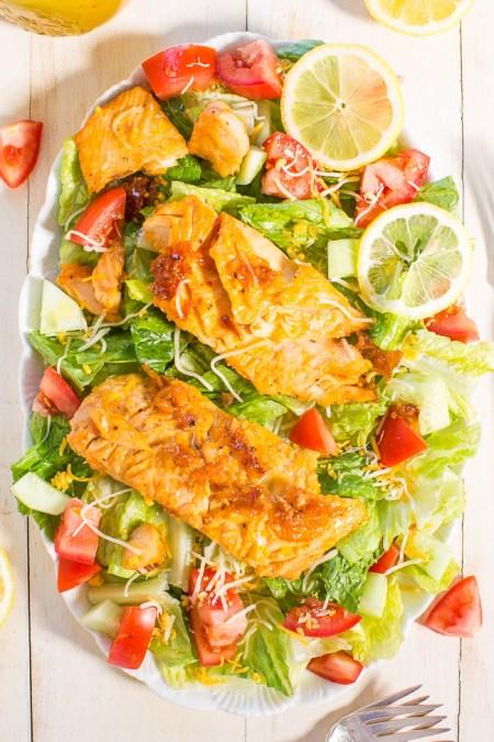 healthy summer- Salmon salad