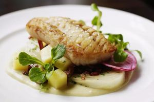 grilled onion butter cod