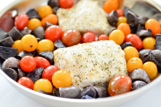 high protein seafood