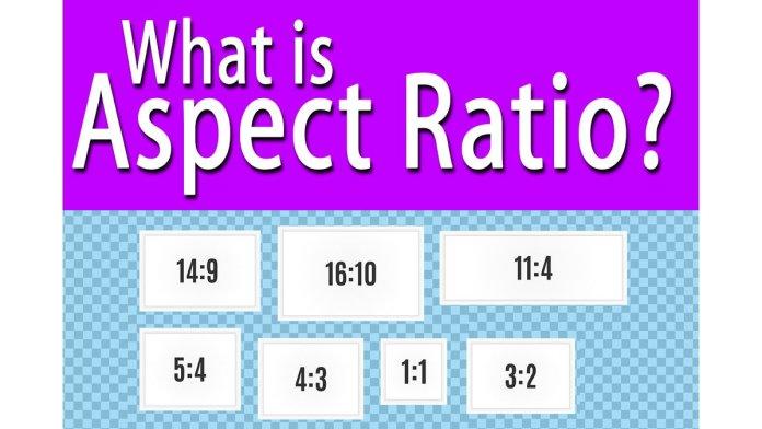 different aspect ratio