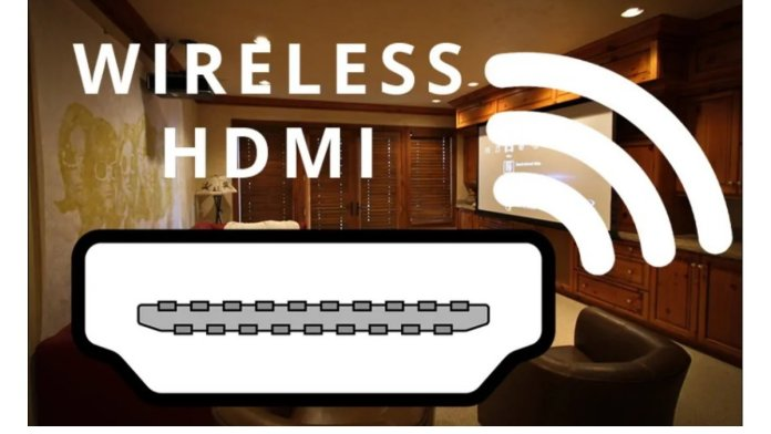 How does wireless HDMI work