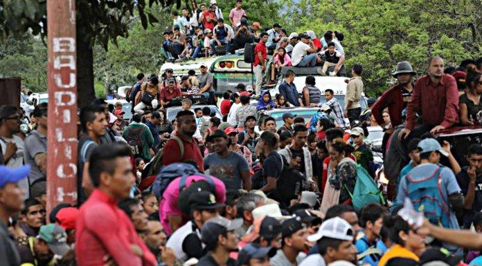 La caravana migrante como arma política