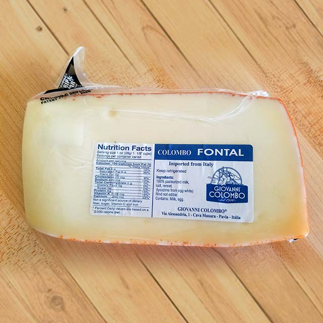 Fontal (Fontina) – Giovanni Colombo