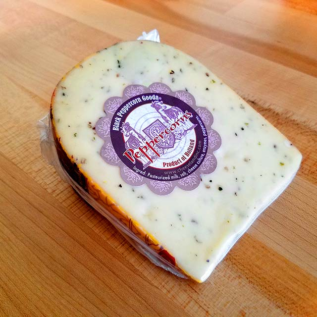 Black Peppercorn Gouda – Cheeseland Gooda Good For You