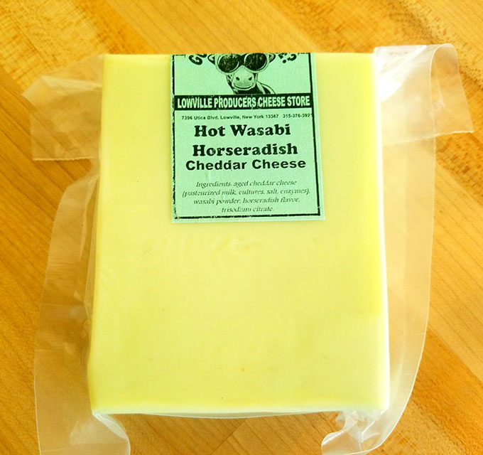Hot Wasabi Horseradish Cheddar Cheese – Lowville Producers Dairy