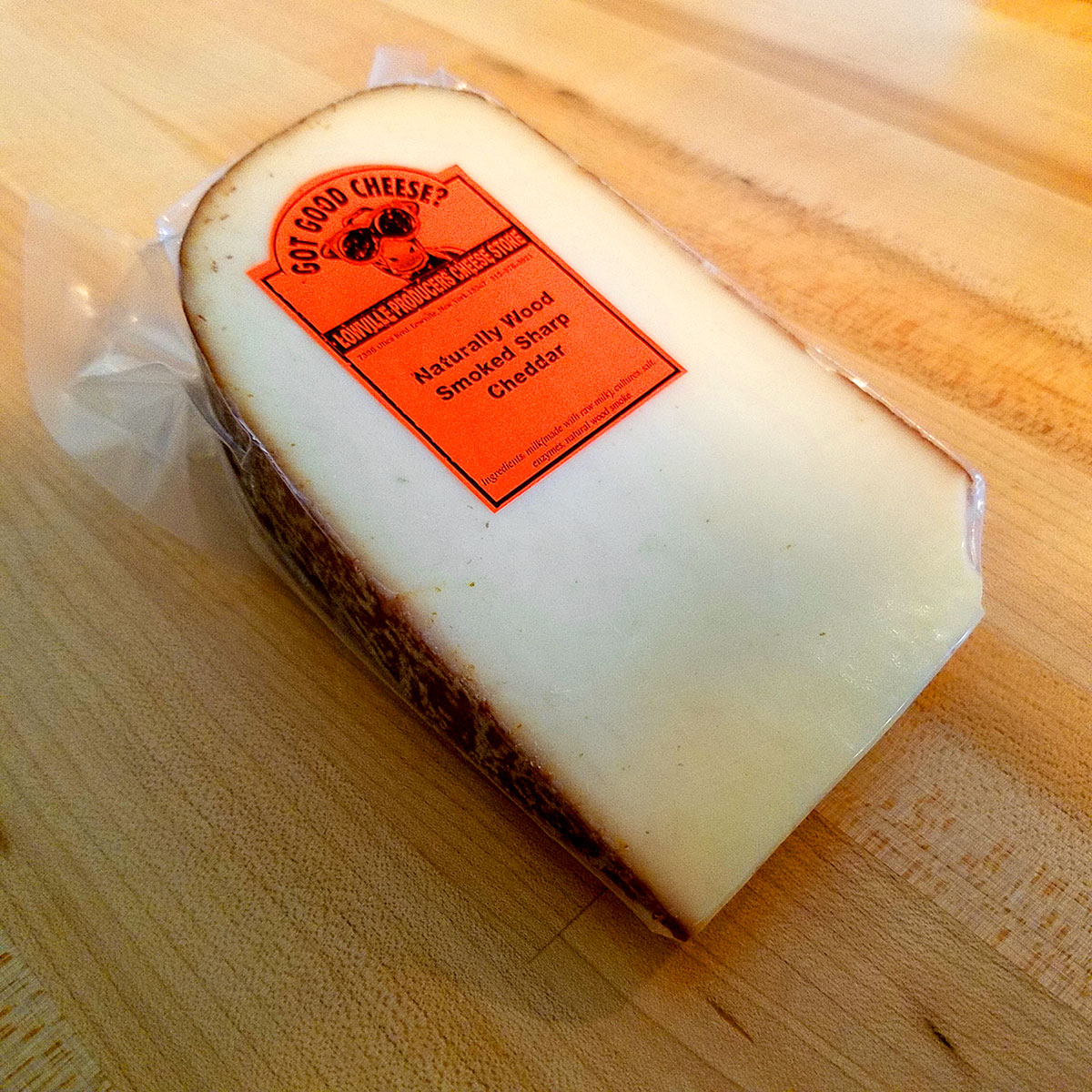 Naturally Wood Smoked Sharp Cheddar – Lowville Producers Dairy