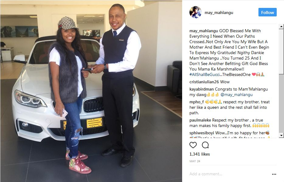Check Out May Mahlangus Car Collection Diski 365