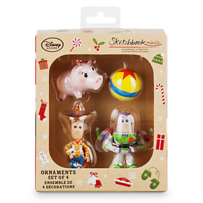 New Sketchbook Minis Ornament Sets Online At The Disney