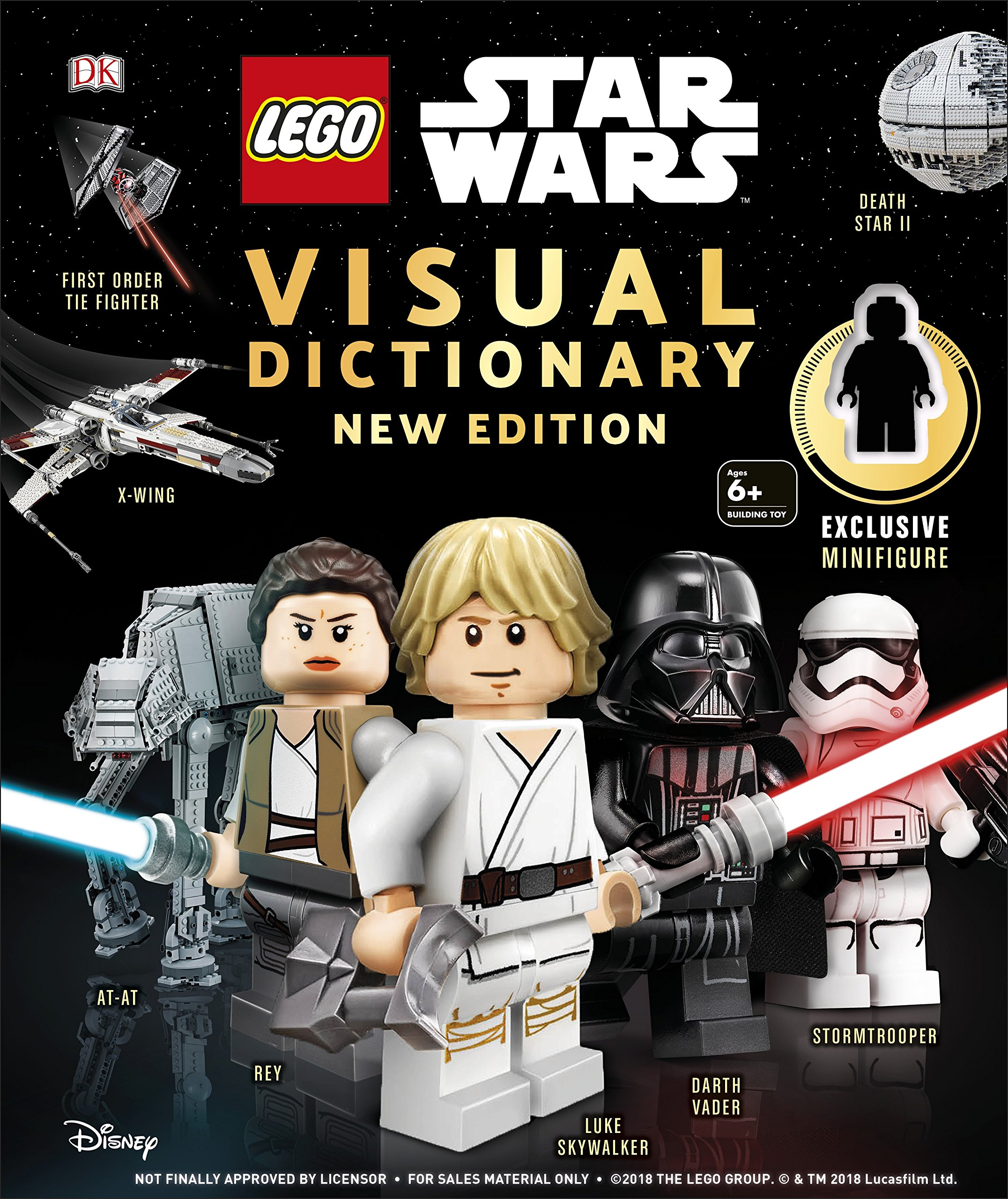 Lego Star Wars Visual Dictionary Edition Coming Soon