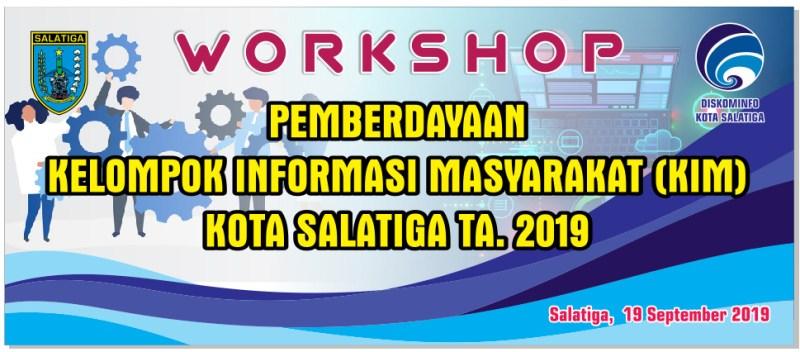 Materi Workshop KIM (Kelompok Informasi Masyarakat)