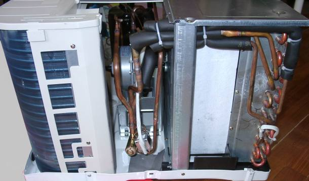 air conditioner disassembly