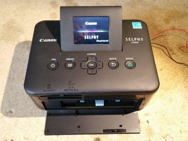 Canon Selphy cp800 printer