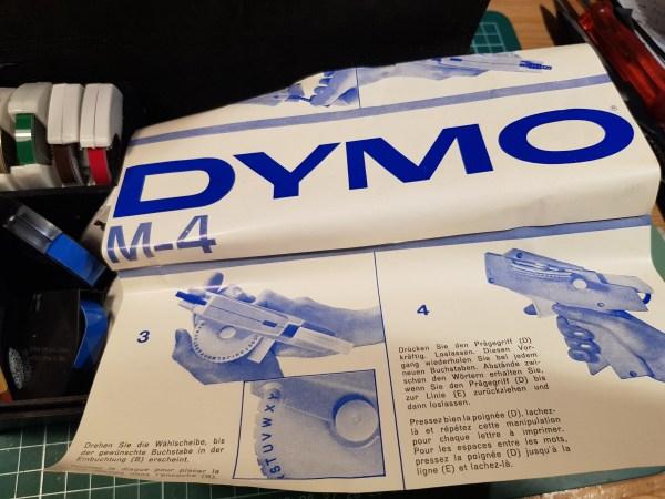 dymo m4 label maker