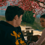 To all the boys I've Loved before contract scene