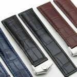 20mm Leather Strap Watch Band Clasp Made For CITIZEN ECO DRIVE BL5250-02L