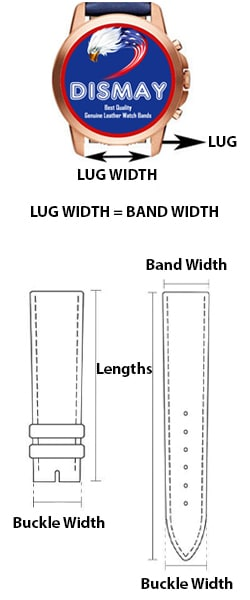 Watch Strap Size Chart
