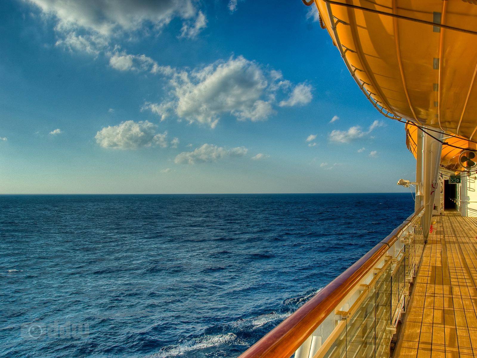 Disney Cruise Deck Desktop Wallpaper