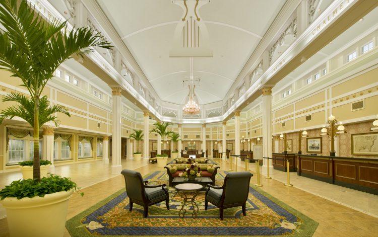 DIsney's Port Orleans Riverside lobby