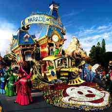 Disney World Main Street Parade