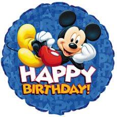A Happy Birthday from Mickey