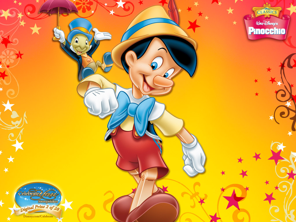Pinocchio Cartoons Wallpaper