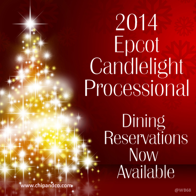 Epcot's Candlelight Dinner Package seating for IllumiNations