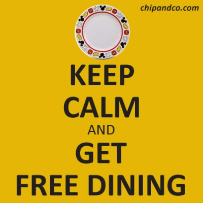 2015 Free Disney Dining Discount Info
