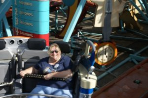 At Disney World are the rides accessible to larger people (height or weight)? 12