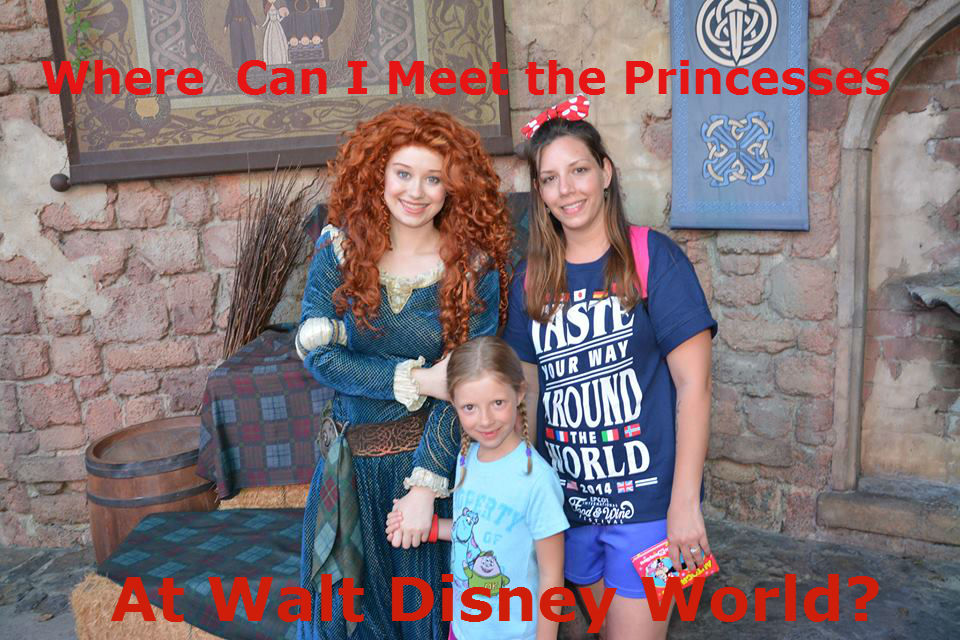 Where Can I Meet the Princesses at Disney World?