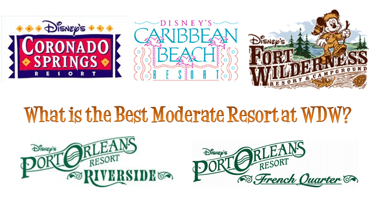 What Is The Best Moderate Resort at Walt Disney World?