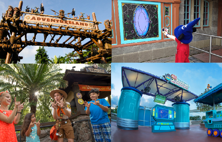 A look at the Interactive Games at Walt Disney World Parks