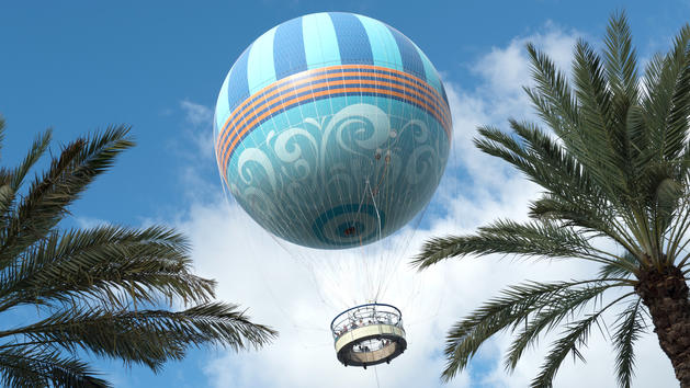 Disney's Aerophile Hot Air Balloon Will Take You to New Heights