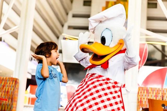 Disney Dining Plans With Children