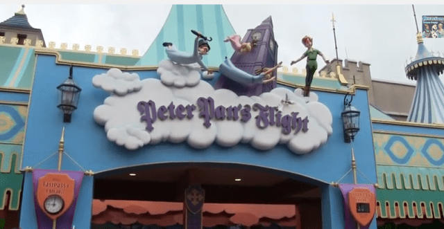 Peter Pan's Flight, An Original Attraction For All Ages